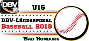 Logo zum U15-Länderpokal Baseball 2019 in Bad Homburg